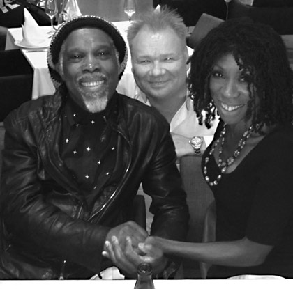 With Billy Ocean